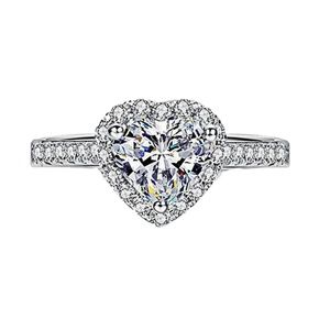 NEW HEART SHAPED CZ RING (Size 8)